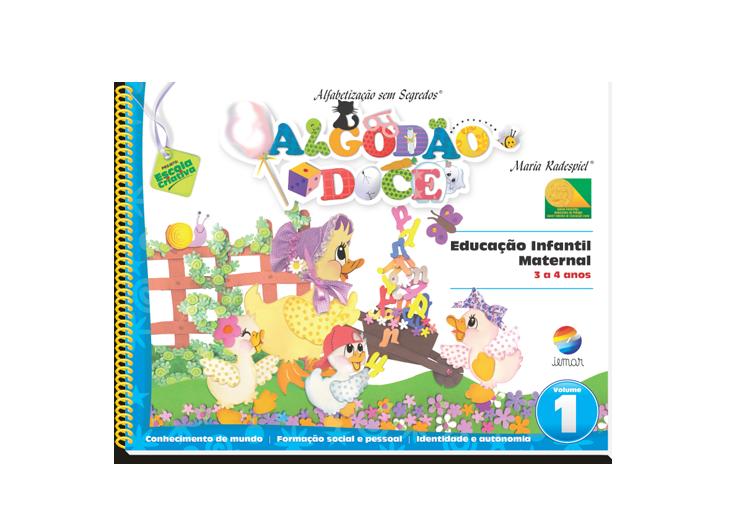 Algodão Doce – Educação Infantil - Maternal (2 volumes)