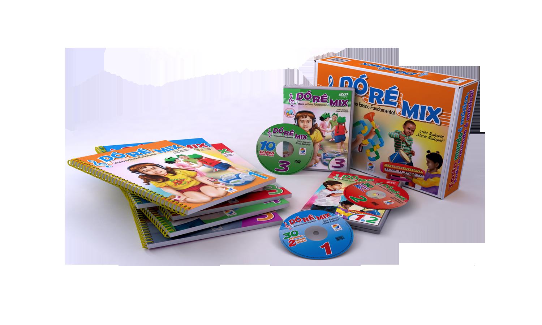 Coleção DÓ RÉ MIX – Música no Ensino Fundamental