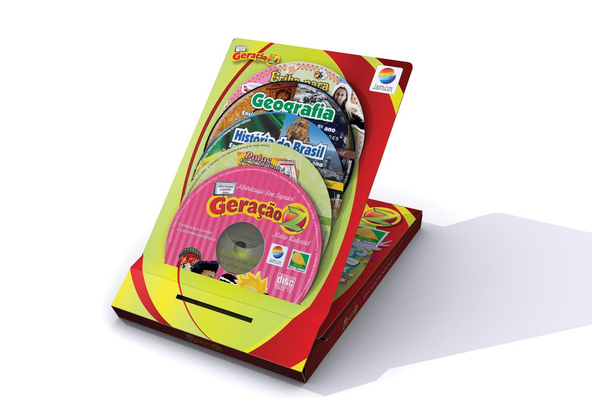 Geração Z – 1º ao 5º ano - 5 CDs