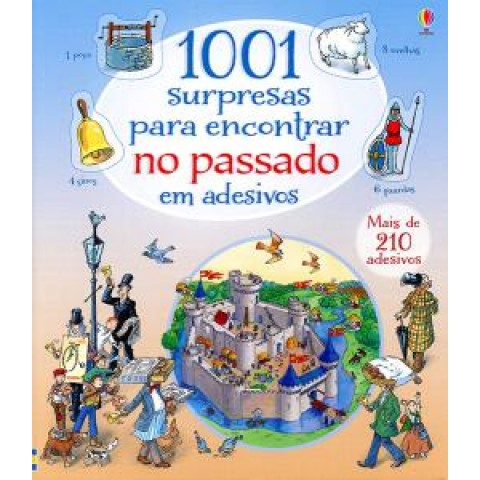 1001 Surpresas Para Encontrar No Passado Em Adesivos406087.7