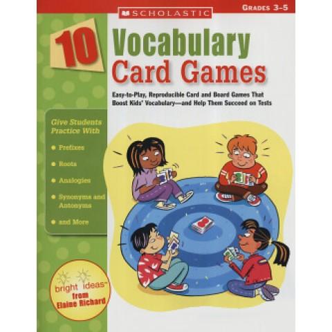 10 Vocabulary Card Games245935.3