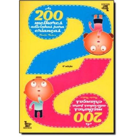 200 Melhores Adivinhas Para Criancas, As149850.5