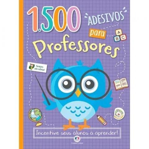 1500 adesivos para professores