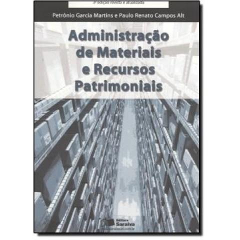 Administracao De Materiais E Recursos Patrimoniais  3ª Edicao124367.5