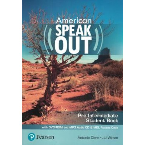 American Speakout Pre-Intermediate Sb With Dvd-Rom And Mp3 Audio Cd & Myenglishlab - 2Nd Ed255565.4