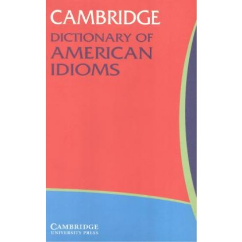 Camb. Dict. Of American Idioms299963.3