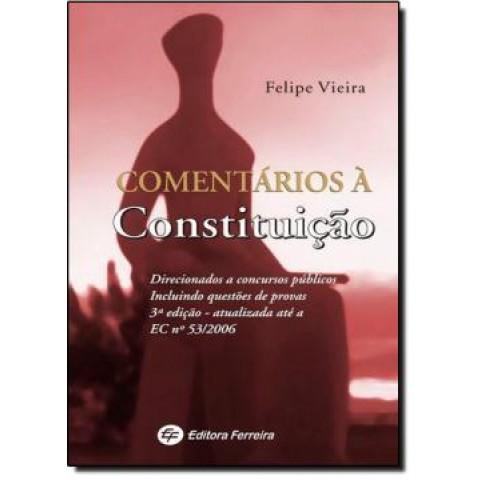 Comentarios A Constituicao - 3ª Edicao115019.6