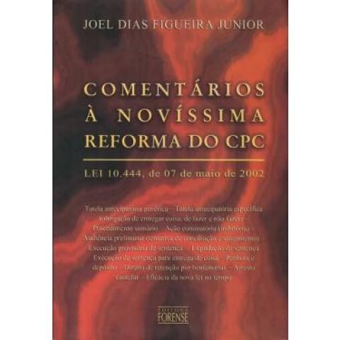 Comentarios A Novissima Reforma Do Cpc - Lei 10.444, 07 De Maio De 2002131301.7