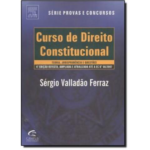 Curso De Direito Constitucional - Teoria, Jurisprudencia E 1.000 Questoes - 4ª Edicao147644.0