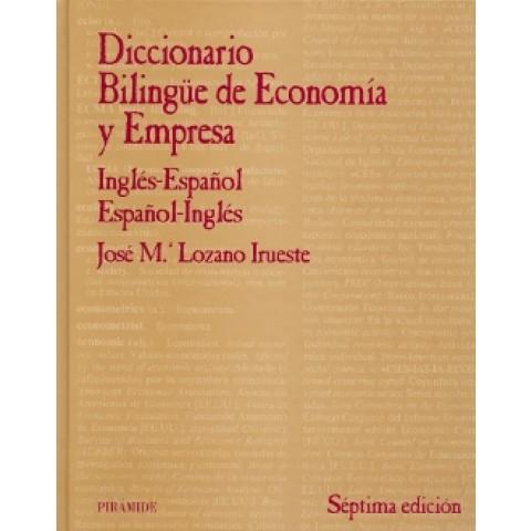 Diccionario Bilingue De Economia Y Empresa791538.8