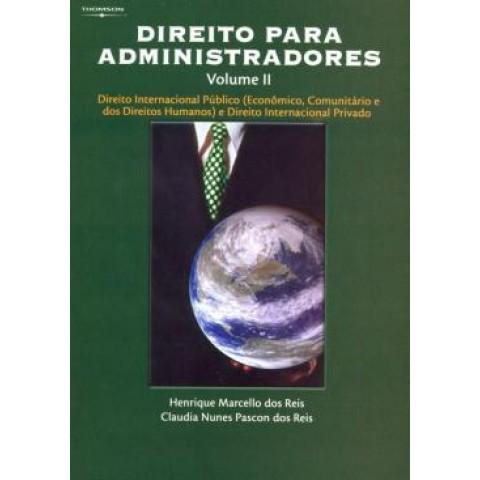 Direito Para Administradores Volume Ii125162.7