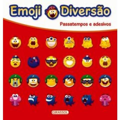 Emoji Diversao Vermelho - Passatempos E Adesivos 559493.1