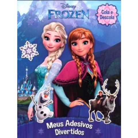 Frozen - Cola E Descola - Meus Adesivos Divertidos - 2ª Ed542657.1