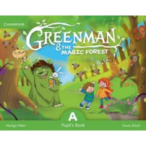 Greenman And The Magic Forest A Pupils Book With Stickers And Pop Outs248600.8