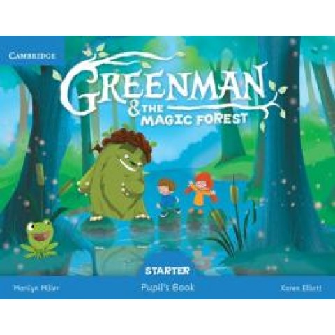 Greenman And The Magic Forest Starter Pupils Book245170.0