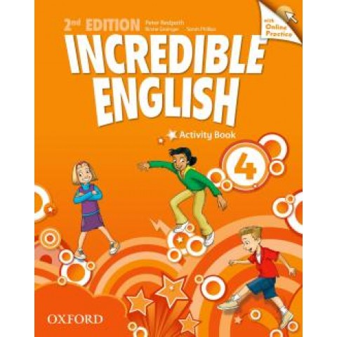 Incredible English 4 Ab With Online Practice Pack - 2Nd Ed240088.1