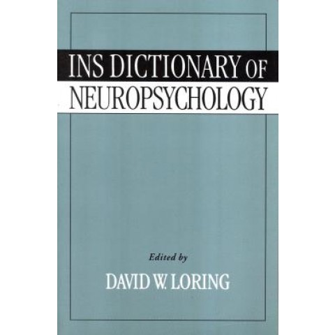 Ins Dictionary Of Neuropsychology786290.6