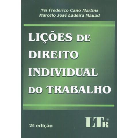 Licoes De Direito Individual Do Trabalho  2ª Edicao112751.9
