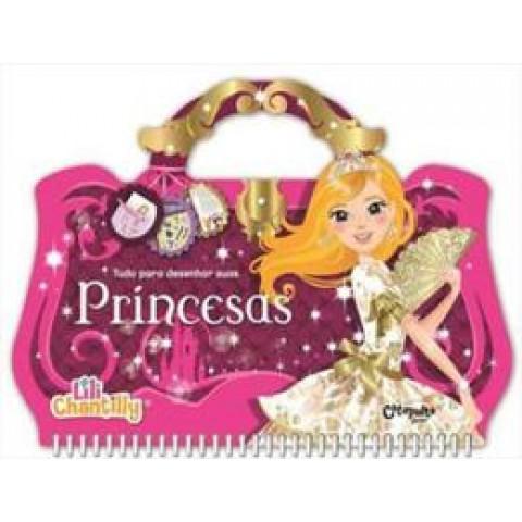 Lili Chantilly Tudo Para Desenhar Suas Princesas    414895.7