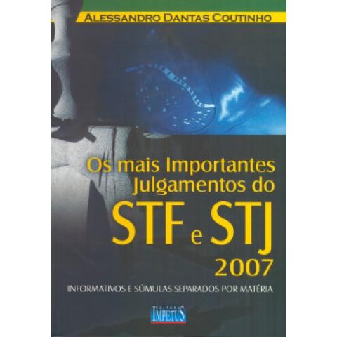 Mais Importantes Julgamentos Do Stf E Stj 2007100741.6