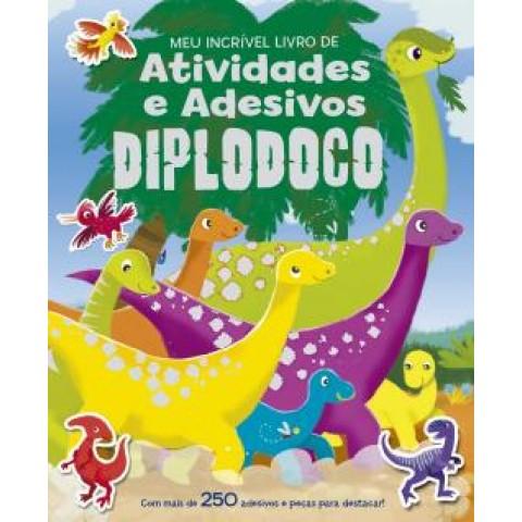 Meu Incrivel Livro De Atividades E Adesivos - Diplodoco419031.2