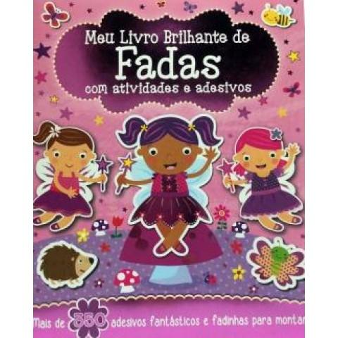 Meu Livro Brilhante - De Fadas Com Atividades E Adesivos558857.1
