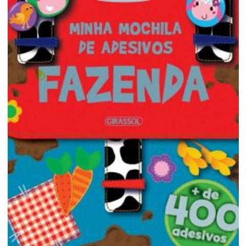 Minha Mochila De Adesivos - Fazenda556224.4
