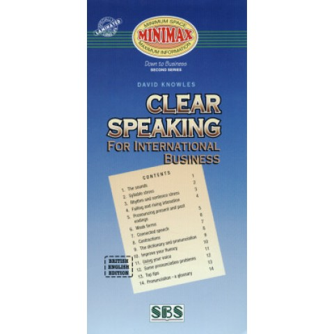 Minimax - Clear Speaking For International Business122544.8
