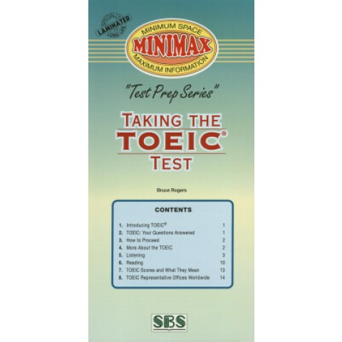 Minimax - Taking The Toeic Test 125388.3