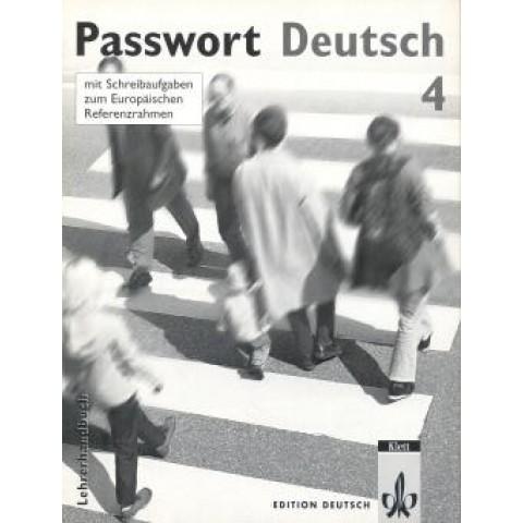 Passwort Deutsch 4 Lehrerhandbuch (Prof)101710.1