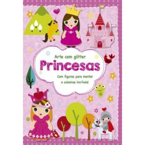 Princesas - Com Figuras Para Montar E Adesivos Incriveis!255507.2
