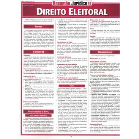 Resumao - Direito Eleitoral306481.6
