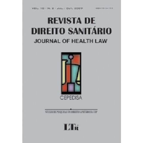 Revista De Direito Sanitario Vol.10 Nº 2116313.2