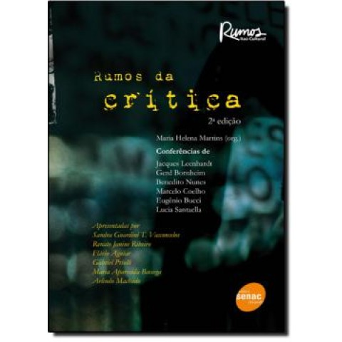 Rumos Da Critica  2ª Edicao108518.2