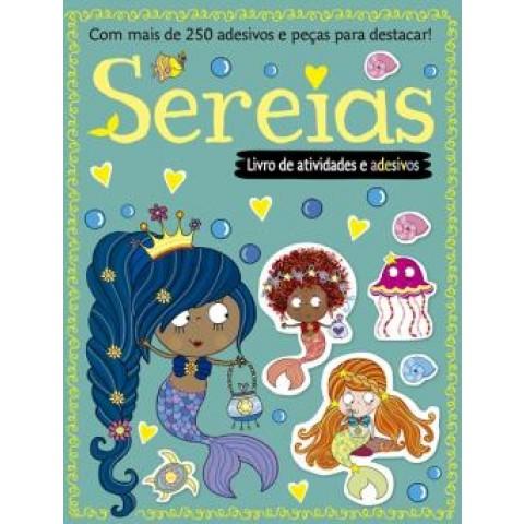 Sereias - Livro De Atividades E Adesivos417167.7