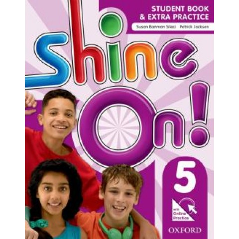 Shine On! 5 Student Book With Online Practice Pack - 1St Ed249653.4