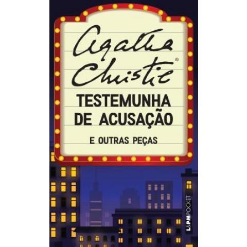 Testemunha De Acusacao E Outras Pecas - Pocket545836.6
