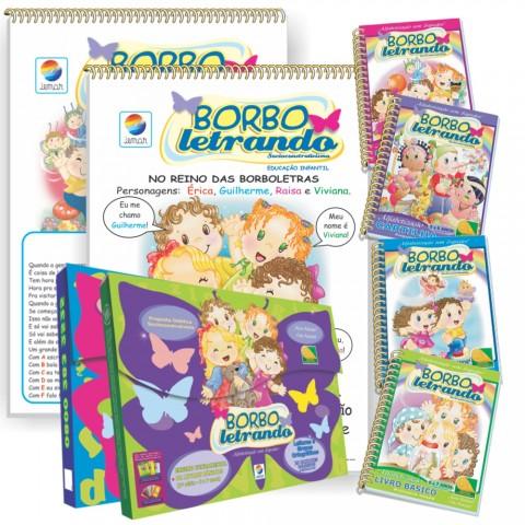 Borboletrando – Cartilha de alfabetização - 2º Período + 1º Ano Fundamental (5 a 7 anos)