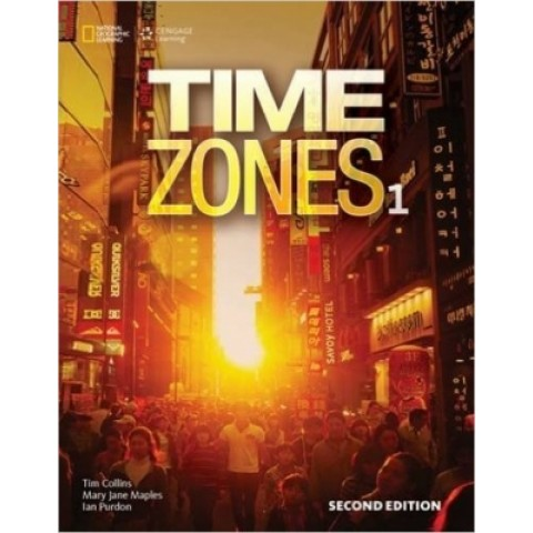 Time Zones 1 - Student's Book With Online Workbook - Second Edition