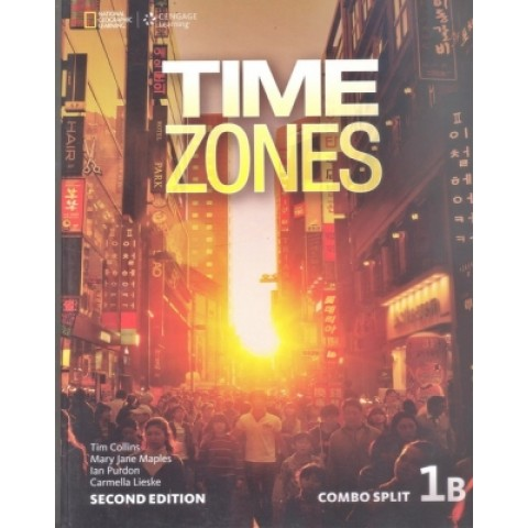 Time Zones 1B - Student's Book With Online Workbook - Second Edition