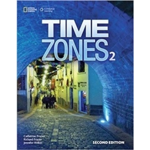 Time Zones 2 - Student's Book With Online Workbook - Second Edition