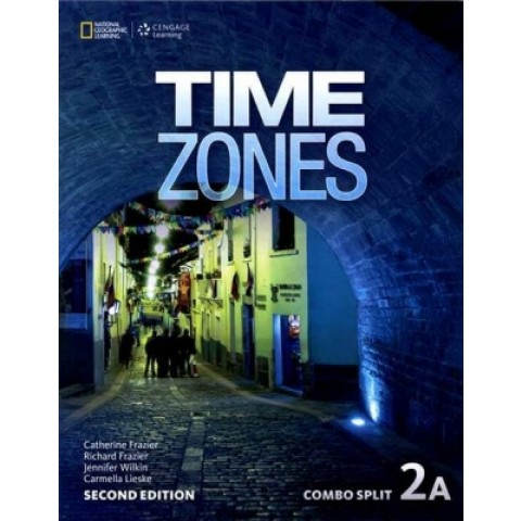 Time Zones 2A - Student's Book With Online Workbook - Second Edition