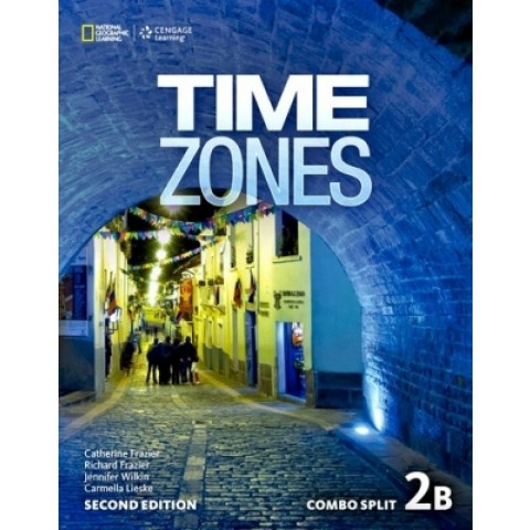 Time Zones 2B - Student's Book With Online Workbook - Second Edition