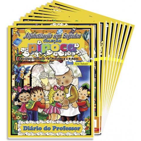 Coleção Pipoca – 2º Período - 5 a 6 anos - 9 volumes
