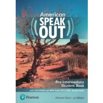 American Speakout Pre-Intermediate Sb With Dvd-Rom And Mp3 Audio Cd & Myenglishlab - 2Nd Ed