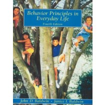Behavior Principles In Everyday Life - 4 Th Ed767167.3
