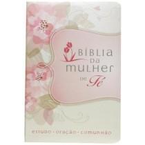 Biblia Da Mulher De Fe - Flores407639.2