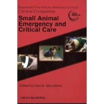 Blackwell´S Five-Minute Veterinary Consultclinical Companion: Small Animal Emergency And Critical Care871964.0