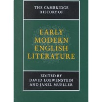 Cambridge History Of Early Modern English Literature, The843446.8