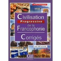 Civilisation Progressive De La Francophonie - Niveau Intermediaire - Corriges - 2Eme Ed.248334.3